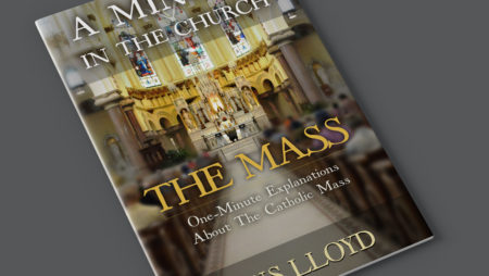 A Minute in the Church, The Mass – Book Design