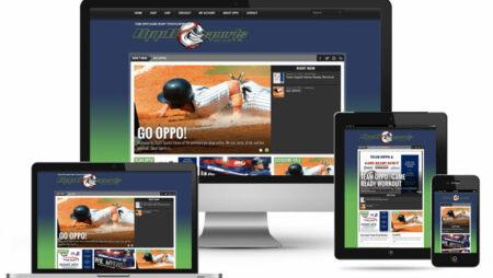 Oppo Sports Website