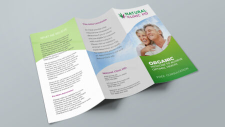 Natural Clinic MD Brochure outside